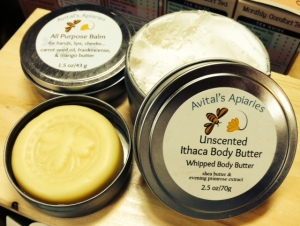 lotion bar and body butter