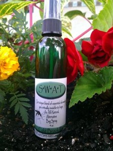 Natural toxin free bug spray alternative
