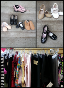 Shoes for Ballet, Jazz & Tap. Leotards for dance & Gymnastics.