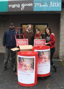 food drive, red cross, food pantry ithaca, holiday giving