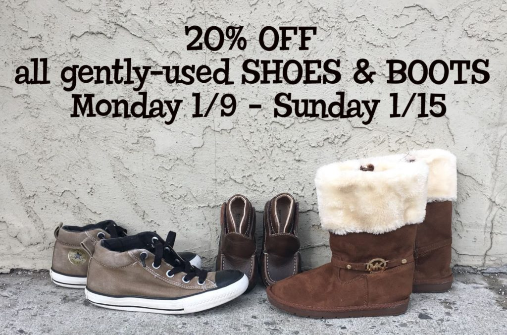 shoes, boots, ithaca, kids clothes, January sale