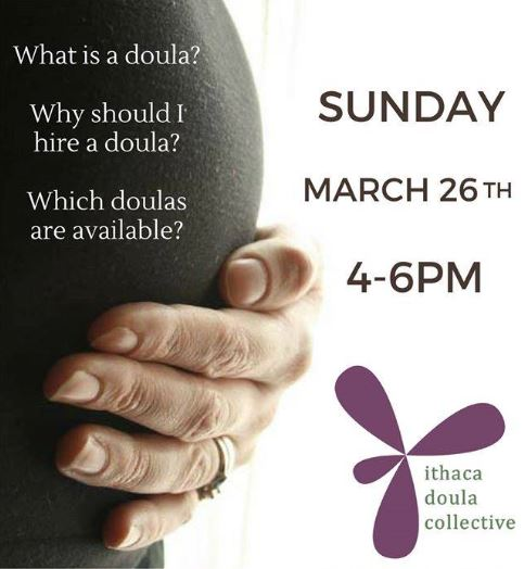 Doula, ithaca, collective, Fausel, midwife, pregnant