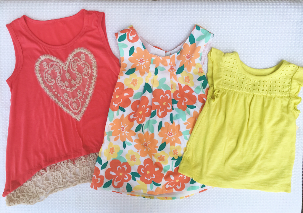 girls tank tops, summer