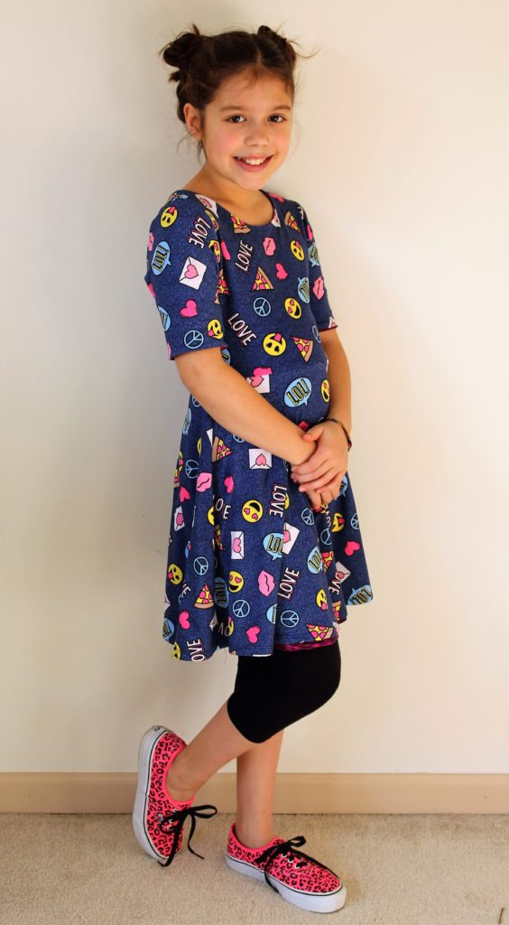 97731240314 Why stop at ladylike  Linnea rocked this 77 kids skirt (size 10
